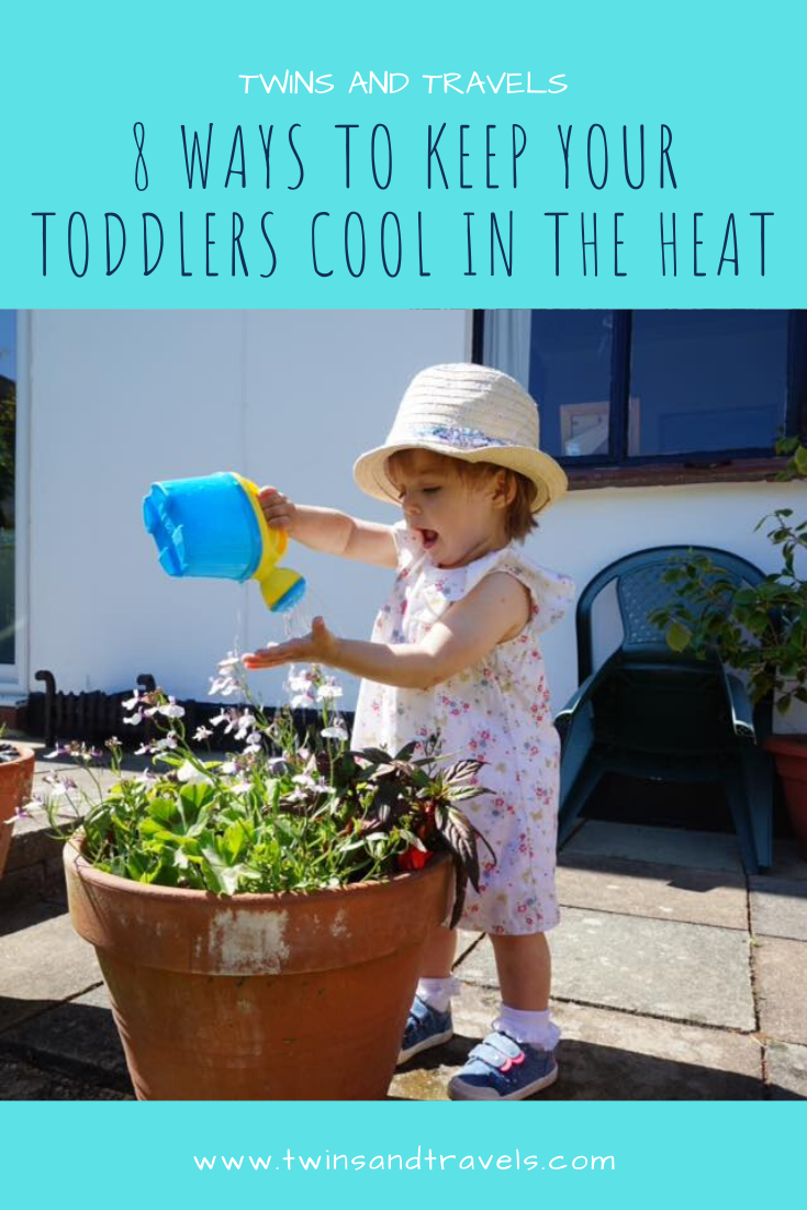 Keeping toddlers cool in heat