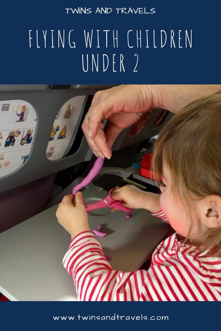 Child playing on plane