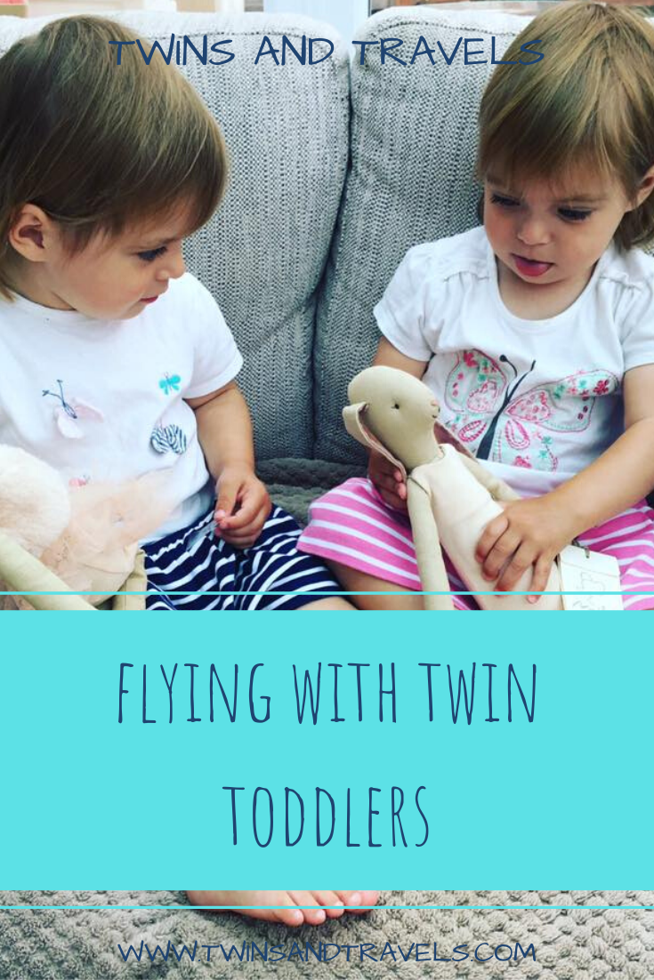 Twin Toddlers Playing