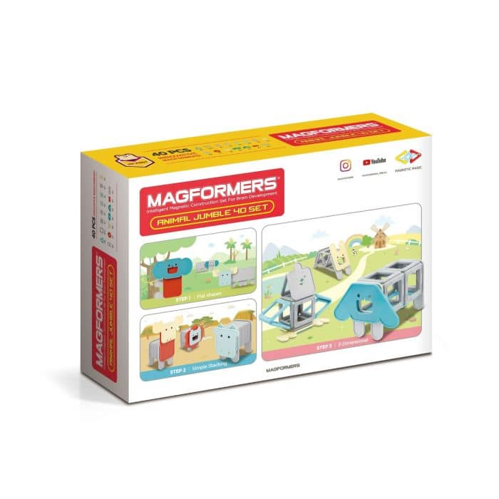 Magformers box - children's magnetic toys