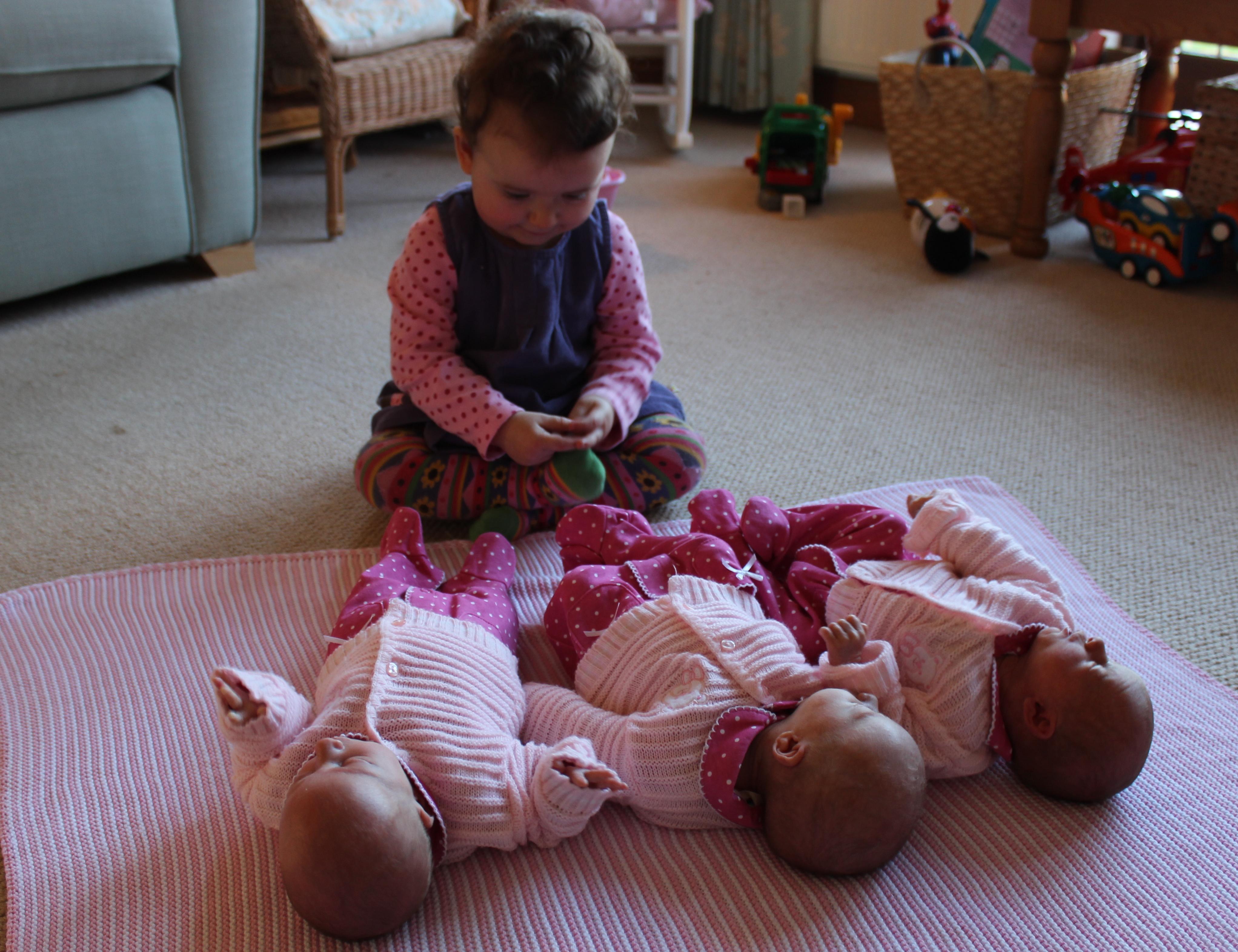 Triplet-sisters