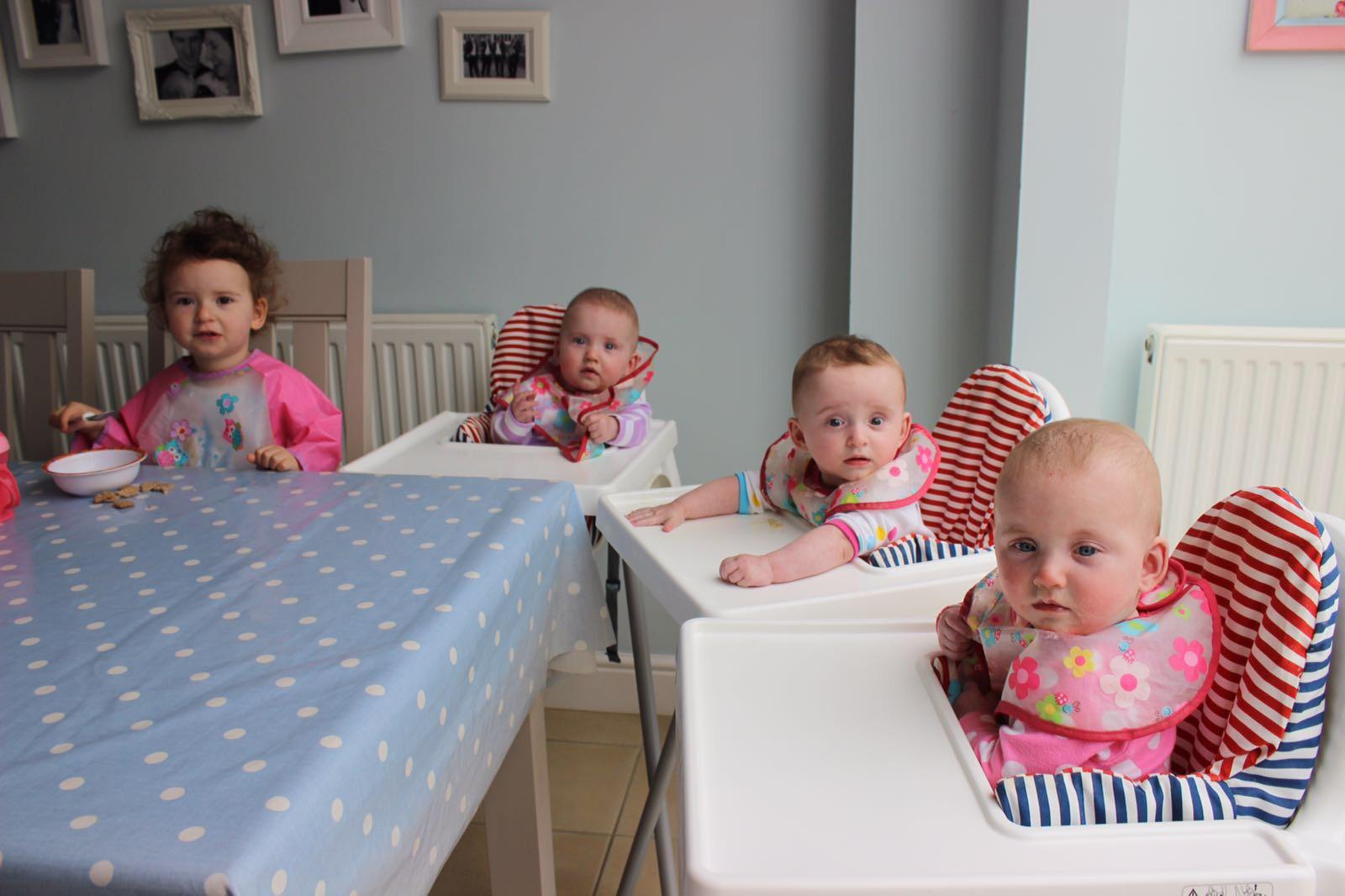 triplets-weaning