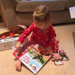 child reading books