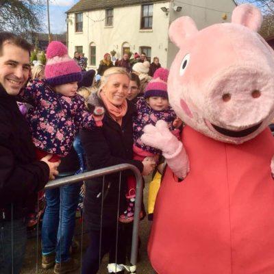 Peppa Pig Visits Marsh Farm