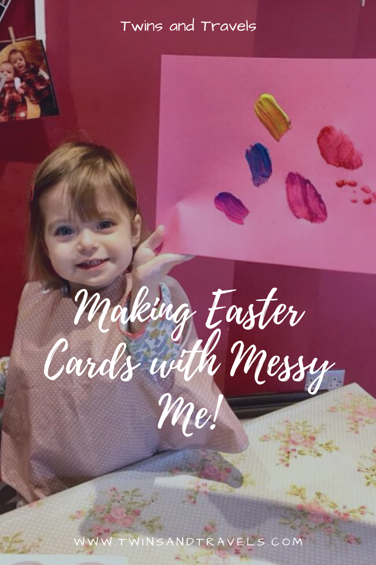 Making Easter Cards with Messy Me
