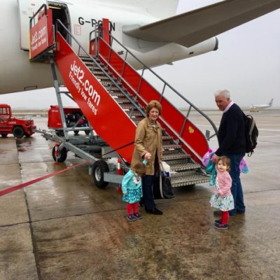 How to Survive a Flight with Twin Toddlers