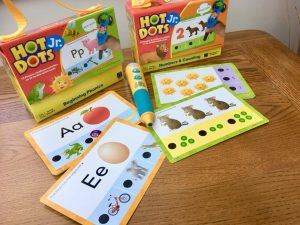 hot dots phonics and number cards