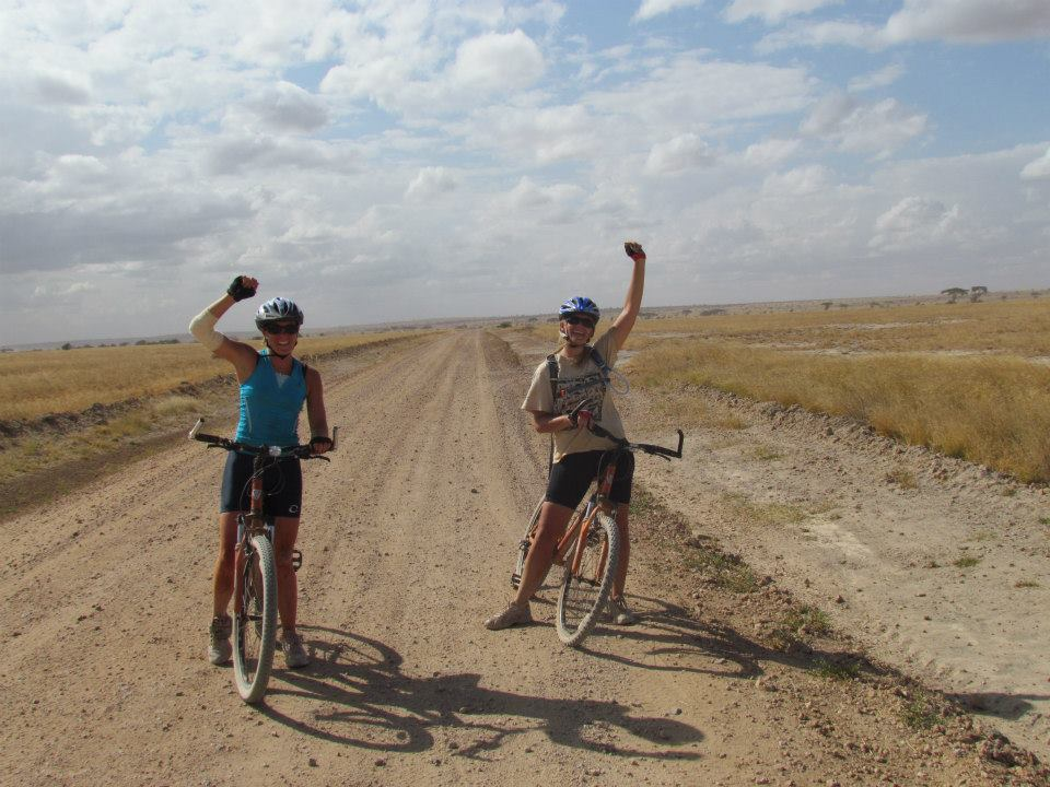 celebrating-finishing-the-cycling-safari