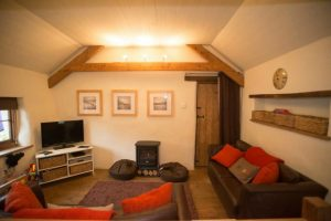 The accommodations at North Bradbury Farm