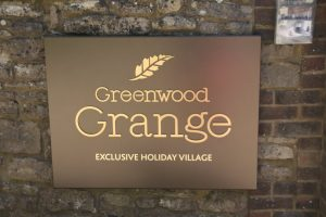 Sign at Greenwood Grange