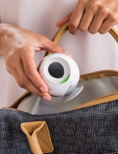 Summer Infant wireless Baby travel monitor in a bag