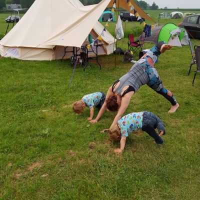 Camping with Twins – Part One