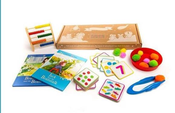 Learning Club boxes of activities