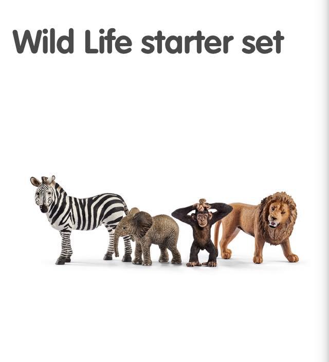 wild animals from Schleich
