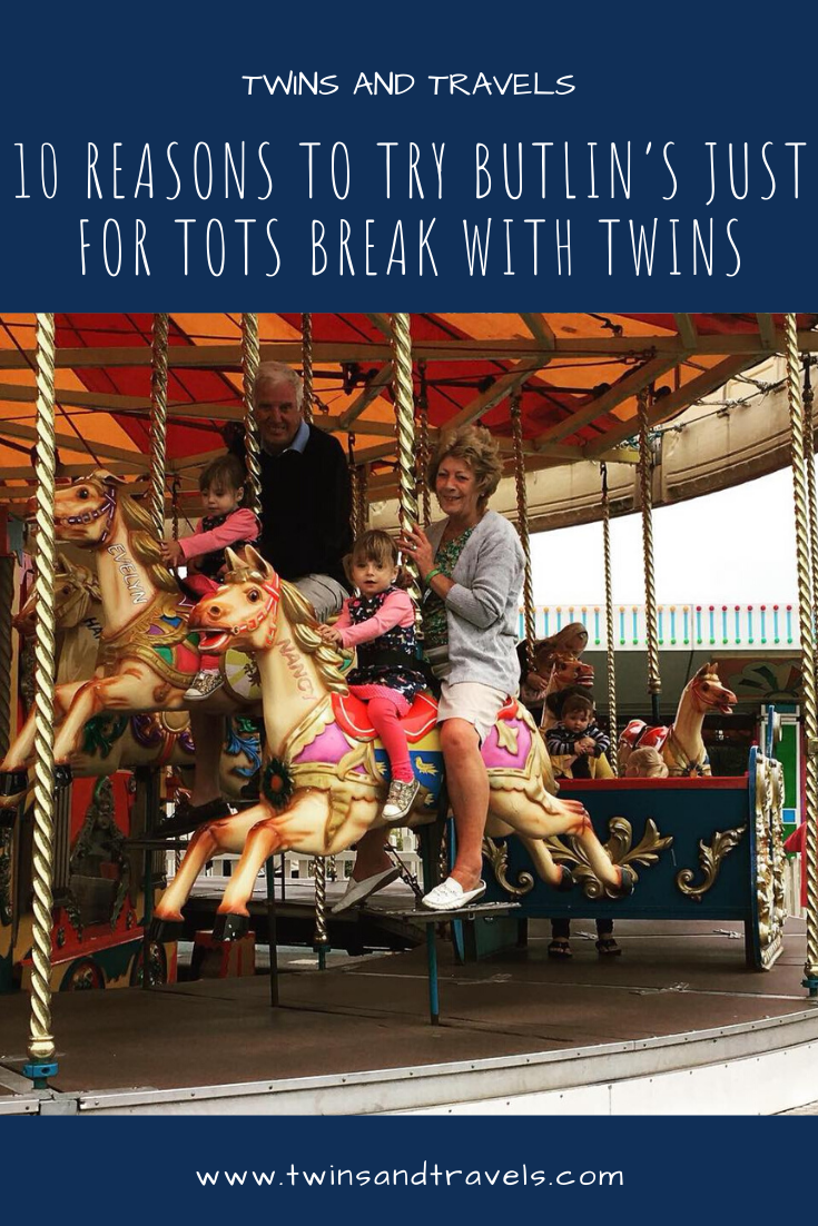 Pin of 10 Reasons for Just for Tots at Butlins