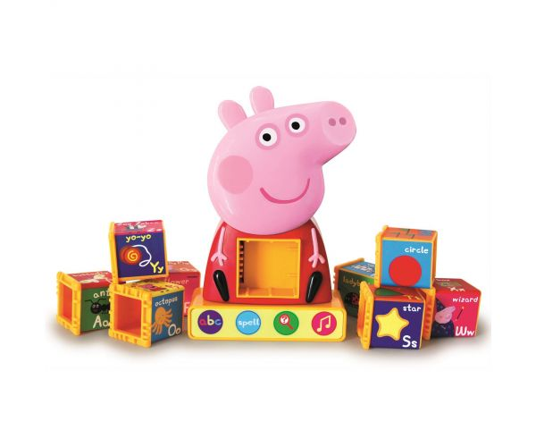 Peppa Pig Phonics Alphabet cubes