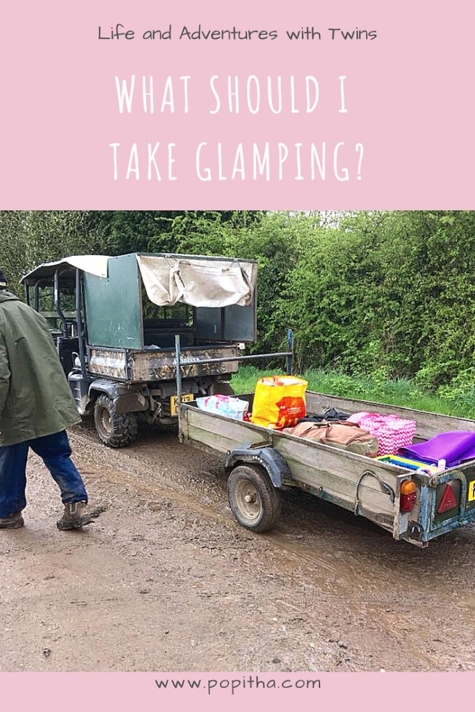 WHAT TO TAKE GLAMPING