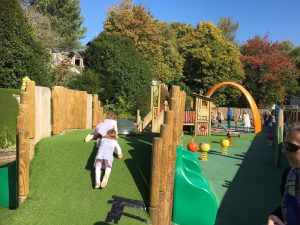 toddler play park at longleat
