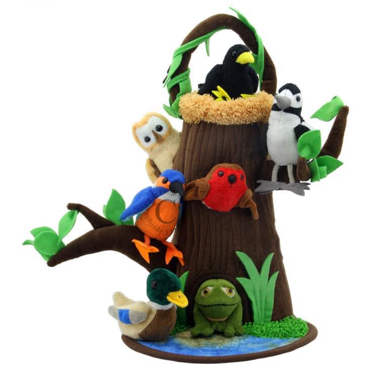 Animal Hideaway puppet