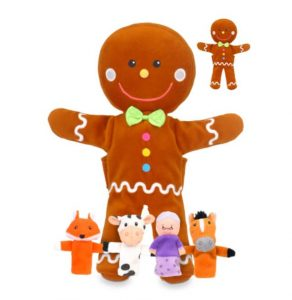 Gingerbread Man hand puppet
