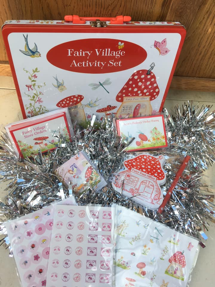 Fairy Village stationary set