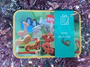 Zoo in a Tin by present mill