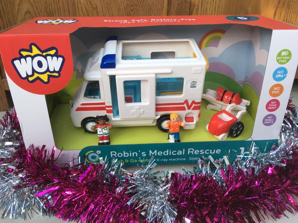 WOW toys Robin's Medical Rescue