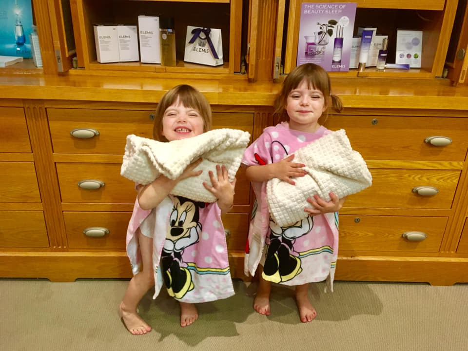Twins heading to the spa at New Park Manor
