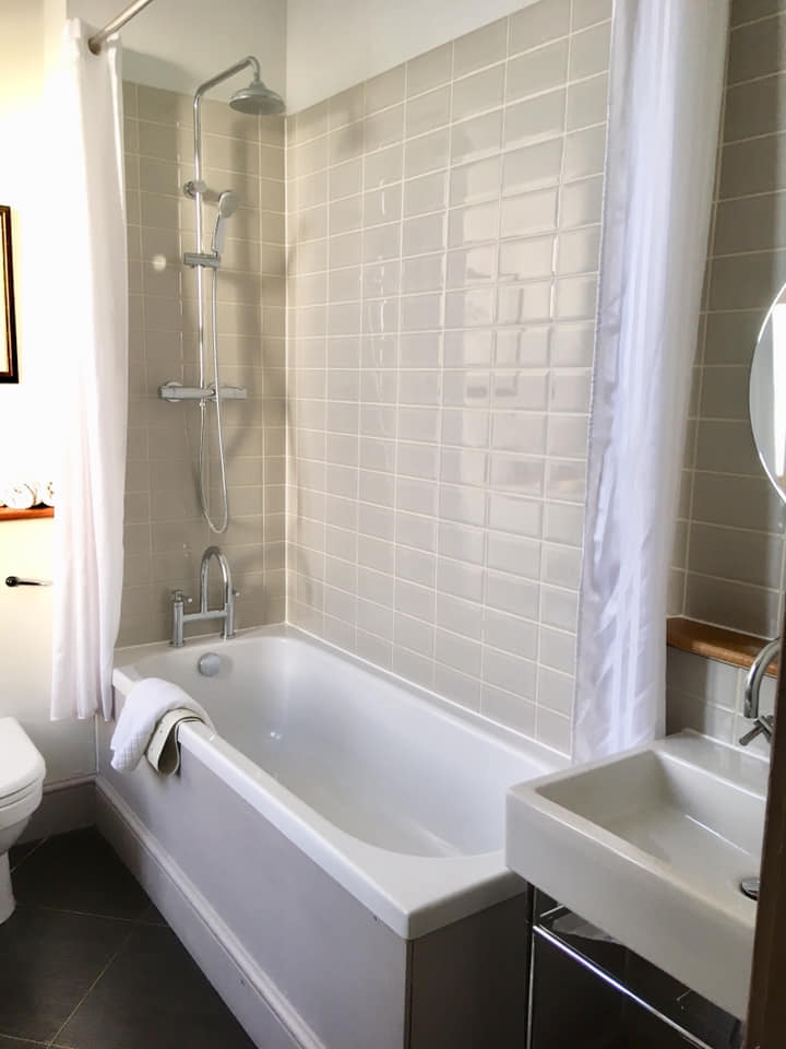 Bathroom at new Park Manor