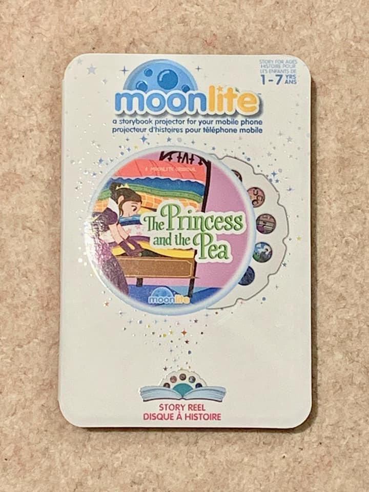 Moonlite stories products. Perfect travel stories for children.