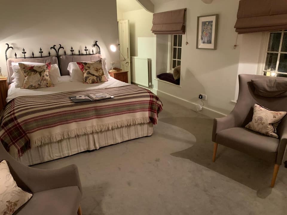 The bedrooms at The Woolly Grange in Wiltshire. A Luxury Family Hotel.