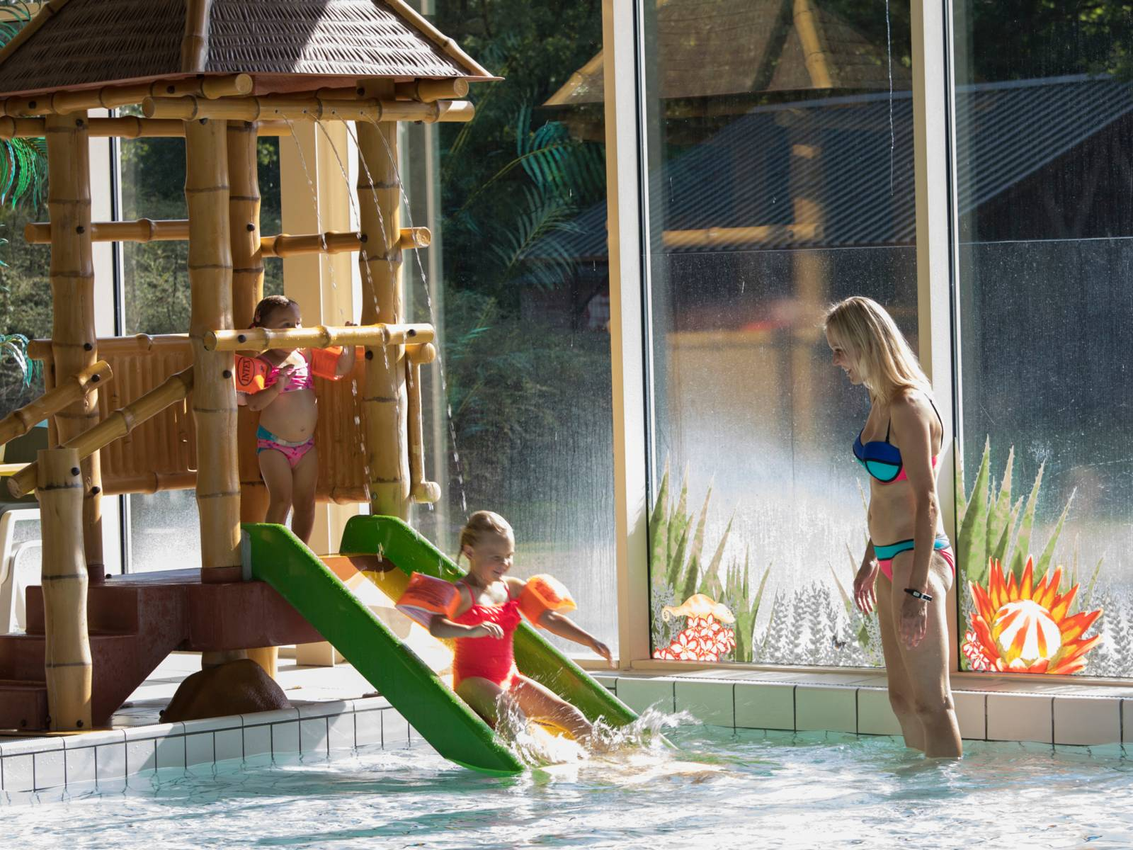 Beekse Bergan toddler pool. Top child friendly holidays in Holland