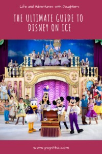 The original Disney Characters performing on Disney On Ice
