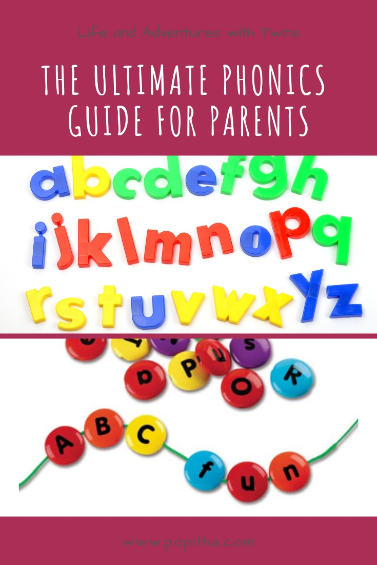 The Ultimate Phonics Guide for Parents Pinterest Pin.