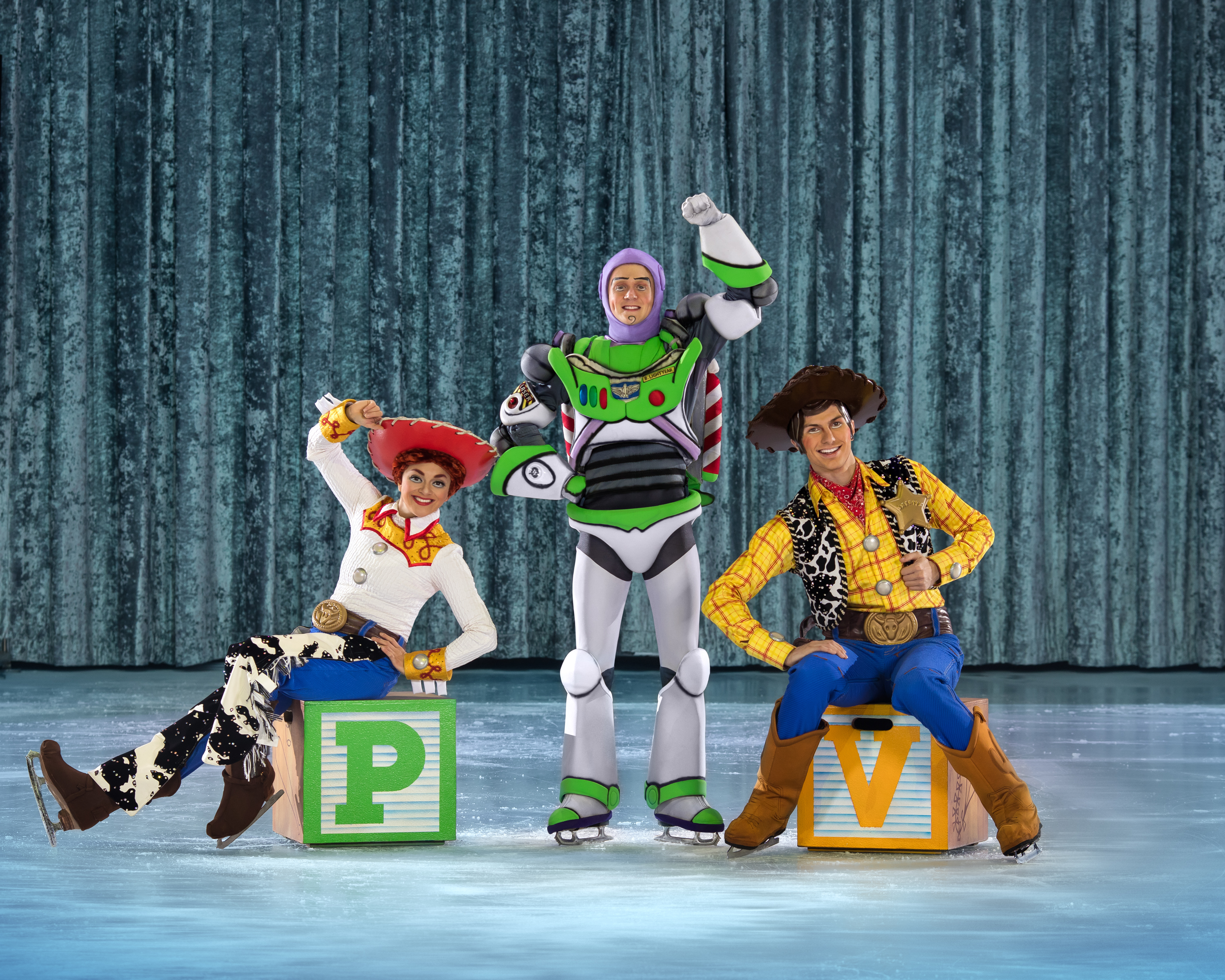 Toy Story performing on Disney On Ice