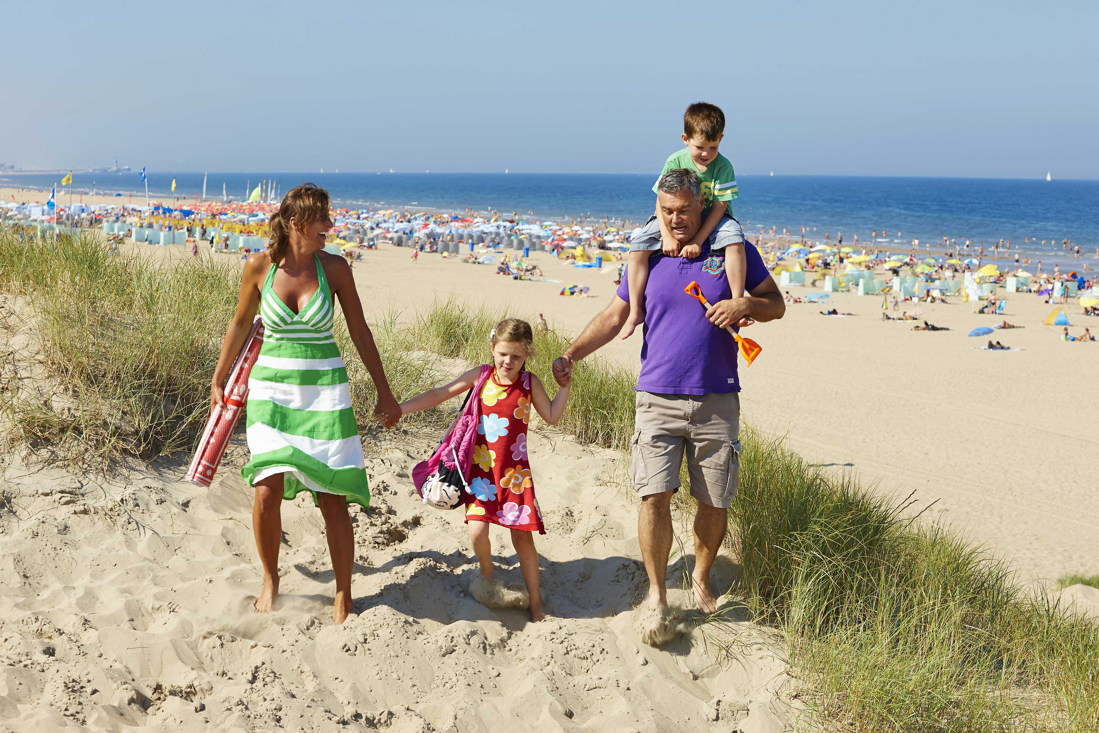 Duinrell beach. Top child friendly holidays in Holland