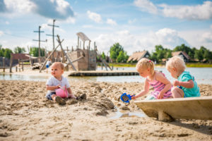 Hof Van Saksen beach. Top child friendly holidays in Holland