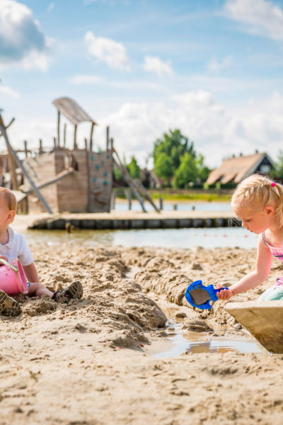 Hof Van Saksen beach. Top child friendly holidays in Holland