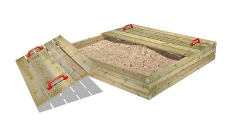 Wickey sandpit. Outdoor play ideas.