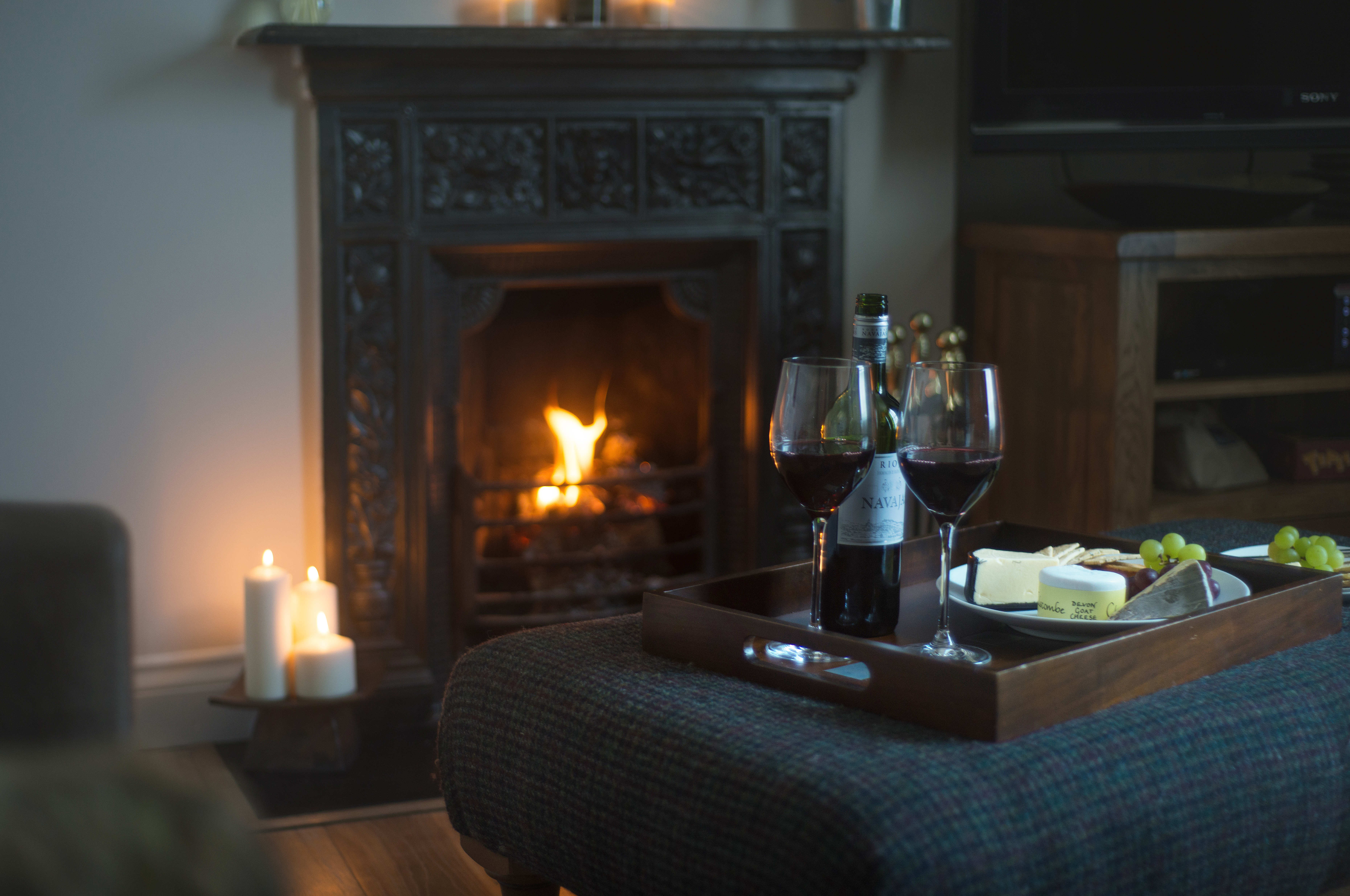 The lounge of Spindle cottage. A family friendly cottage in the New Forest.
