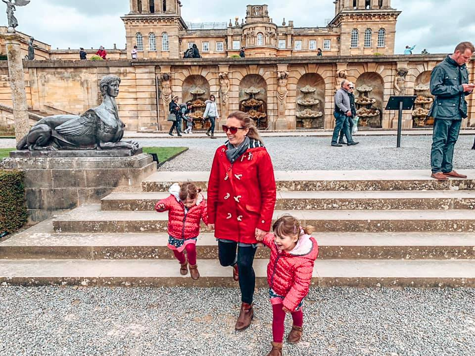 Days out in the Cotswolds at Blenheim Palace with mum and twins