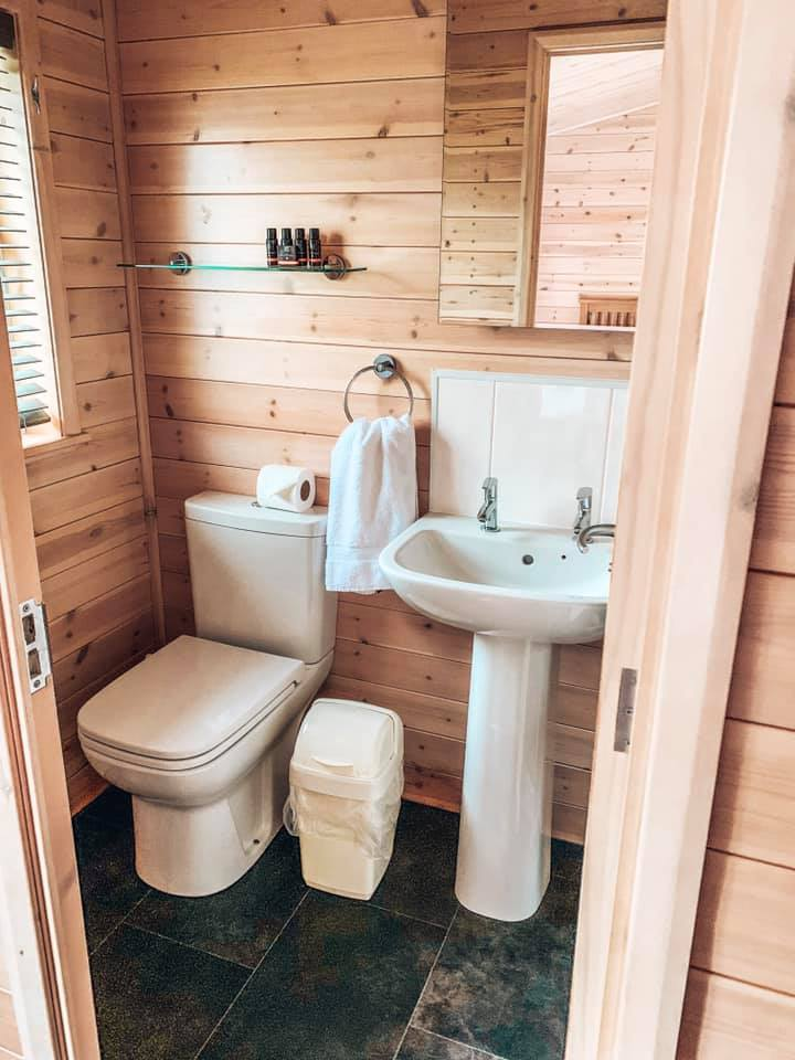 Bathrooms in Darwin forest lodges