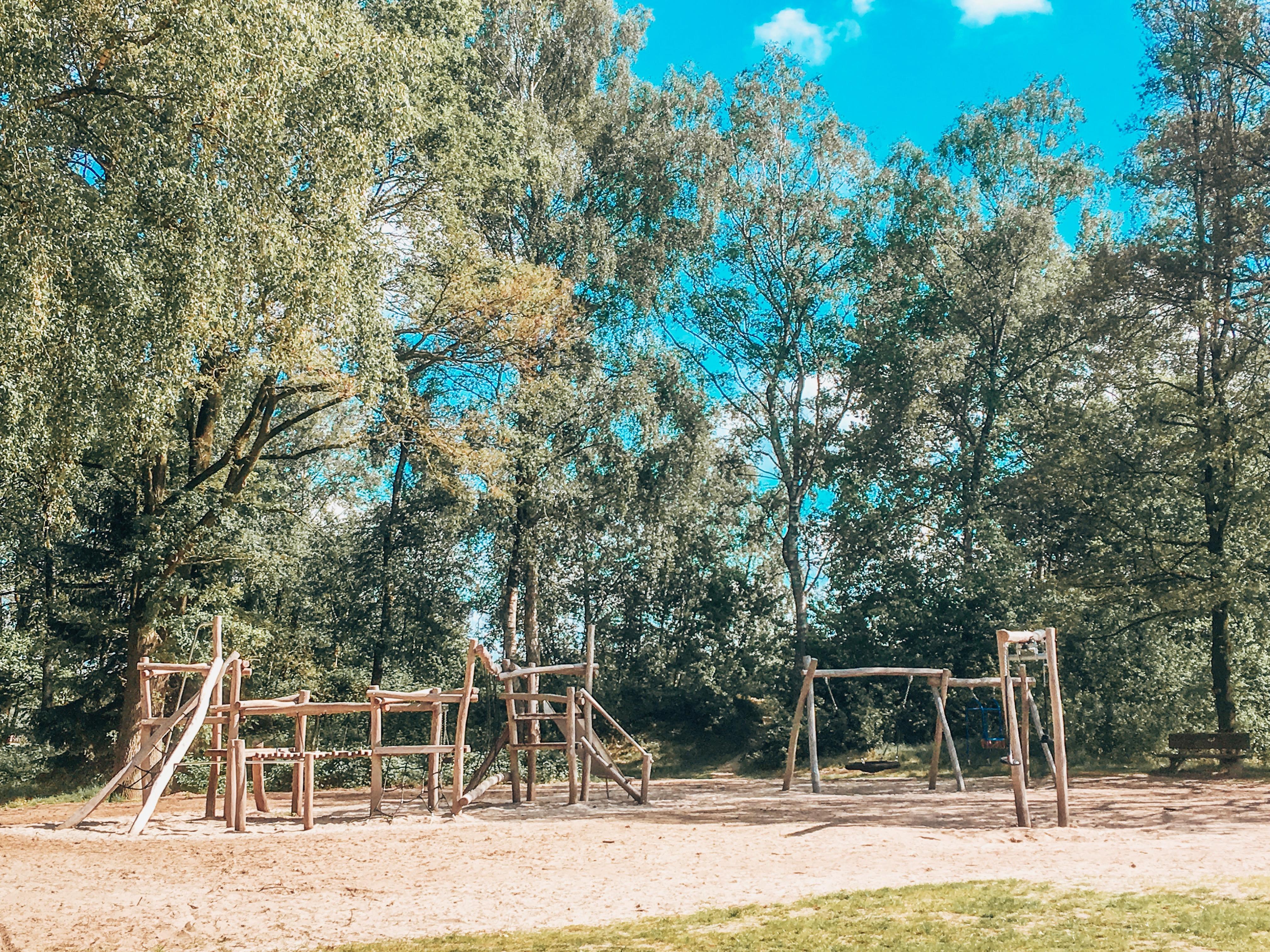Park at Beekse Bergen Eurocamp parc in Holland