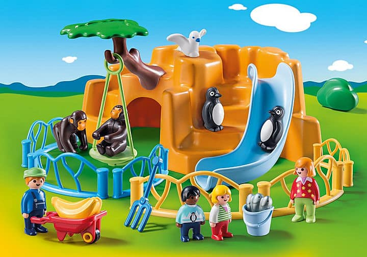 Playmobil 123 range zoo