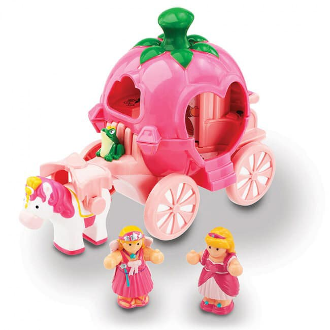 WOW toys pink horse and carriage