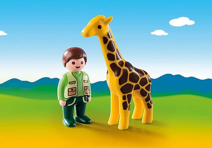 Playmobil 123 giraffe
