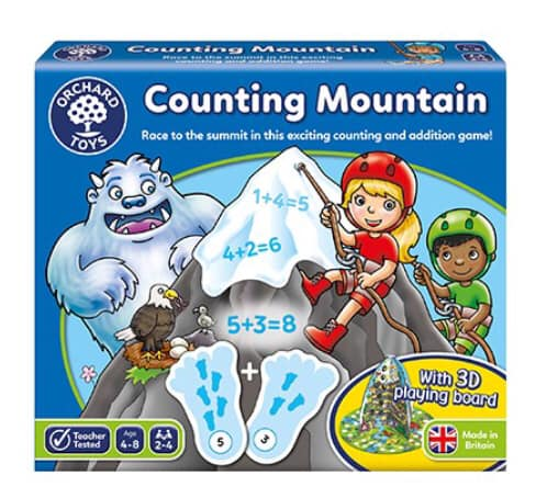 Counting Mountain game from orchard toys