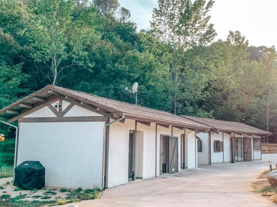 Washing facilities at Can Bora