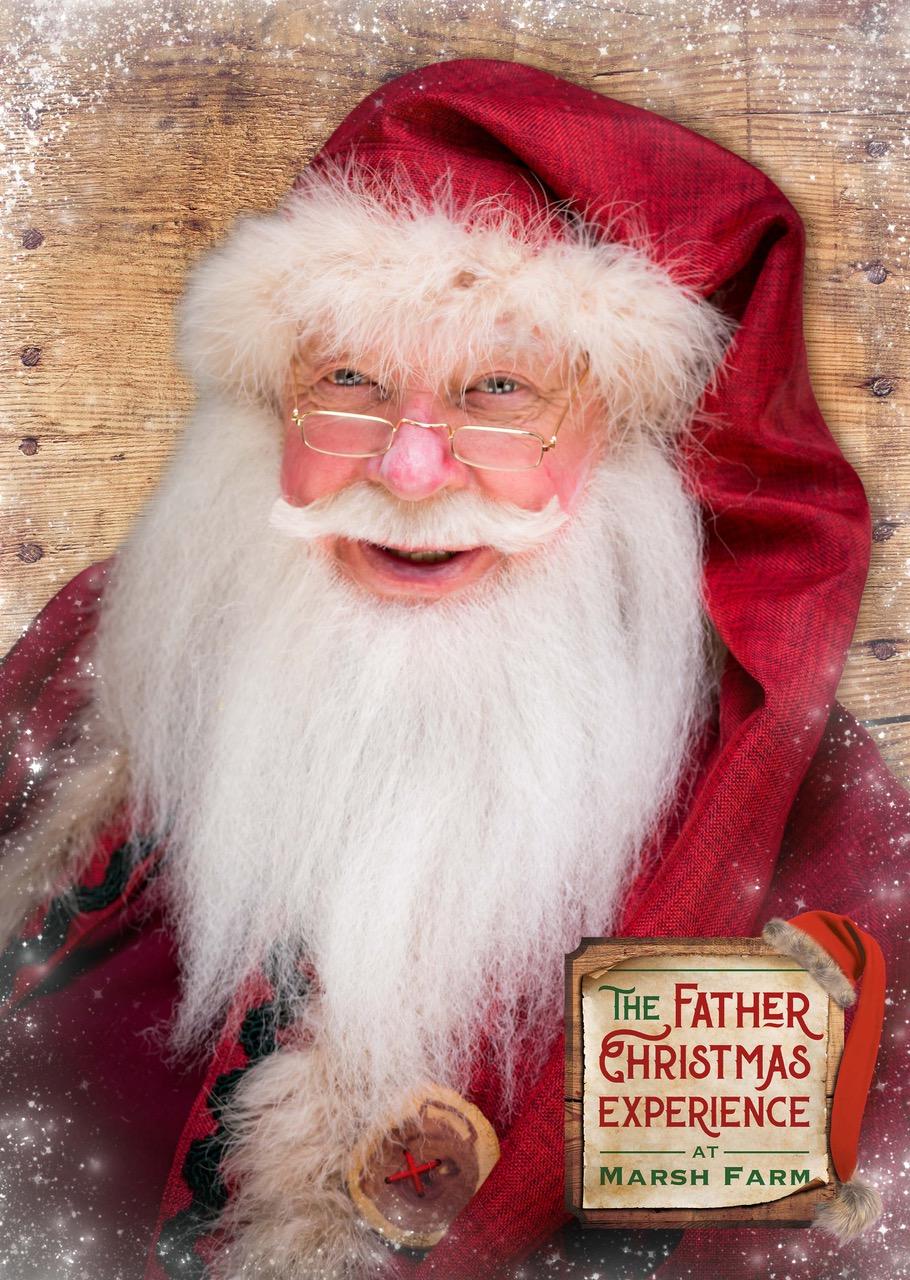Father Christmas smiling