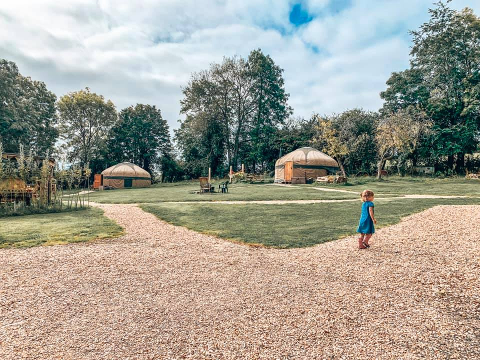 Campden yurts site